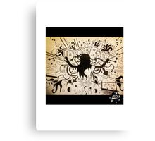 DrumBassRavers Canvas Print