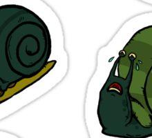 Sad Snails Sticker