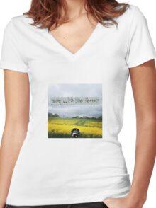 Fever Women's Fitted V-Neck T-Shirt