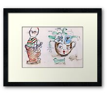 No need to be rude! Framed Print