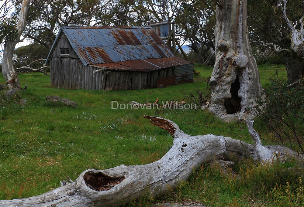 Wallaces Hut by Donovan Wilson