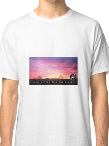 Glowing Sunset Classic T-Shirt