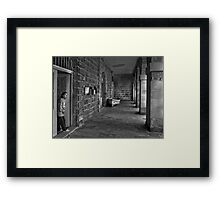 Arched Abode Senglea Malta Framed Print
