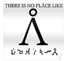 Stargate SG1 - There Is No Place Like Earth Poster