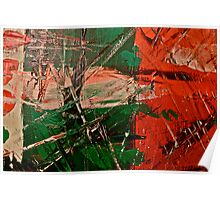 Small Abstract Painting Poster