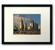 Sunset, Melbourne, Victoria, Australia.  Framed Print