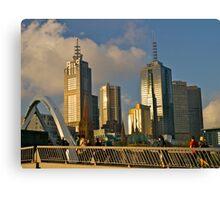 Sunset, Melbourne, Victoria, Australia.  Canvas Print