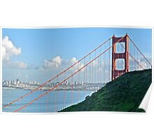 Golden Gate, Marin to San Francisco Poster