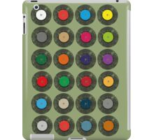 United Colours Of Vinyl iPad Case/Skin