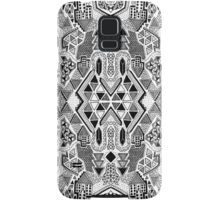 Busy Body Line Pattern Samsung Galaxy Case/Skin