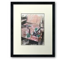 Chair and Braces Framed Print