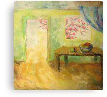 Light in the door Canvas Print