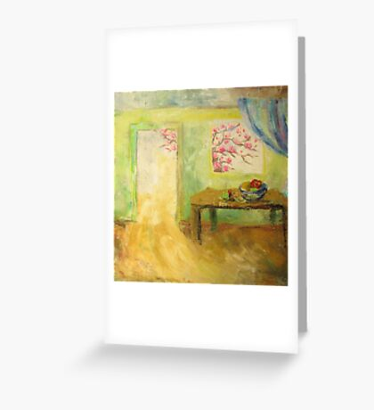 Light in the door Greeting Card