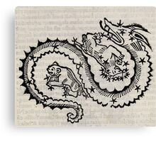 Hic Codex Auienii Continent Epigrama Astronomy Rufius Festivus Avenius 1488 Astronomy Illustrations 0129 Constellations Canvas Print