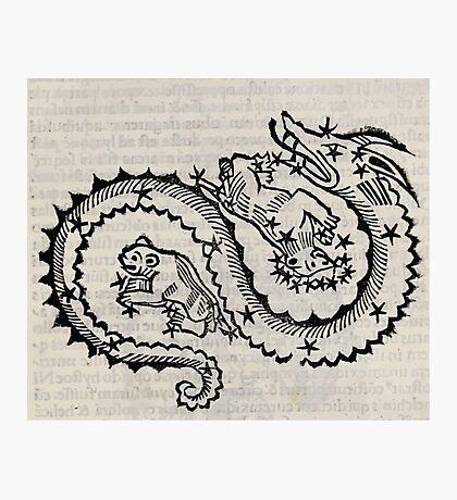 Hic Codex Auienii Continent Epigrama Astronomy Rufius Festivus Avenius 1488 Astronomy Illustrations 0129 Constellations Photographic Print