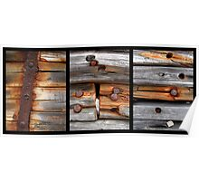 Swedish Wreck Triptych Poster