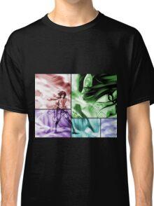 attack on titan eren yeager mikasa ackerman anime manga shirt Classic T-Shirt