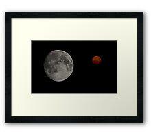 Martian Skies Framed Print
