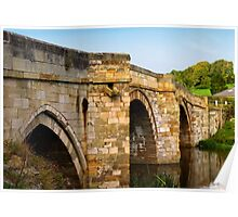 Bridge over the Derwent Poster