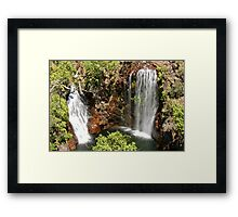 Florence Falls - Litchfield National Park, Northern Territory Framed Print