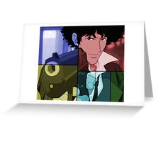 cowboy bebop spike spiegel anime manga shirt Greeting Card
