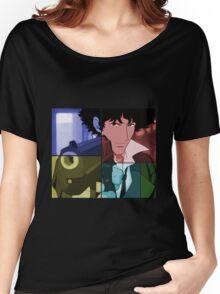 cowboy bebop spike spiegel anime manga shirt Women's Relaxed Fit T-Shirt