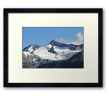 Whistler Glacier Framed Print