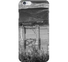 Old Alloa Swing Bridge iPhone Case/Skin
