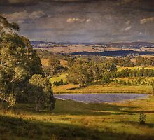 ...pastoral (after rain)... by Geoffrey Dunn