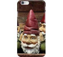Gnomes In Denial iPhone Case/Skin