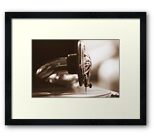 """""""His Masters Voice"""" Framed Print"""