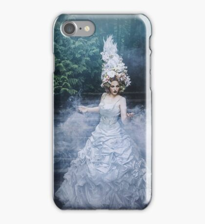 The stairs to the long night of grief iPhone Case/Skin