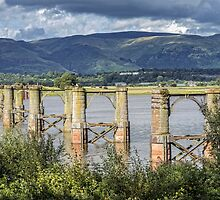 Old Alloa Swing Bridge by Jeremy Lavender Photography