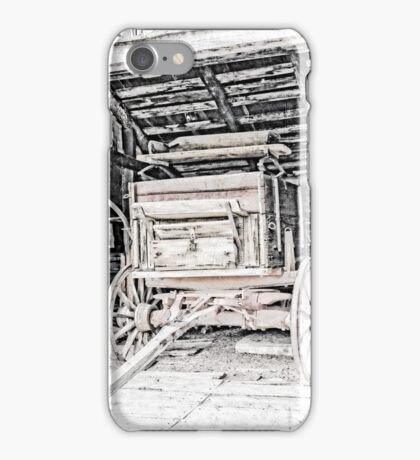 Vintage Wagon Of The Past iPhone Case/Skin