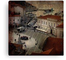 Piran City Canvas Print