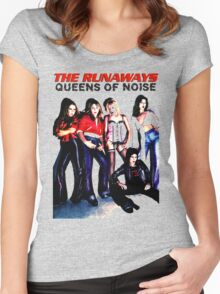 THE RUNAWAYS Women's Fitted Scoop T-Shirt
