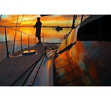 Fishing in Heaven Photographic Print
