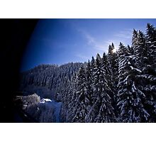Austrian Alps - The picturesque estate Photographic Print