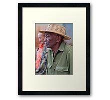 Thursday afternoon, Vinales, Cuba. Framed Print