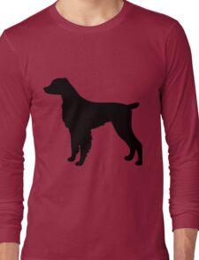 Brittany Spaniel Dog Long Sleeve T-Shirt