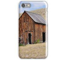 Cabin On The Hill iPhone Case/Skin