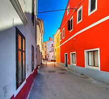 Colorful Alley in Novigrad by paolo1955