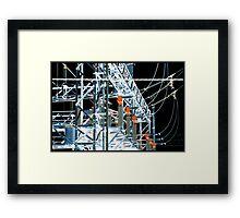 Elektrizität pt.ii - Itsu Framed Print