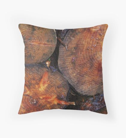 Years and years and years of life Throw Pillow