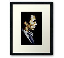 portrait of a psycho Framed Print