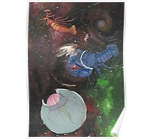 Space Animals Collection #2 Poster