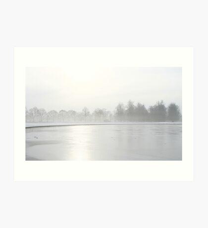 Snow & Ice Art Print