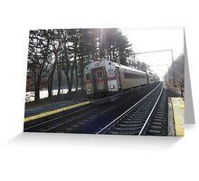 1510 MBTA Commuter Rail Greeting Card
