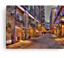 Shad Thames - HDR Canvas Print