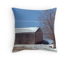 Typical Day on the Farm Throw Pillow